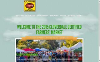 Cloverdale Certified Farmers Market