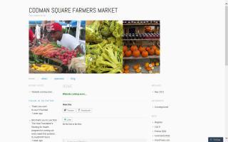 Codman Square Farmers Market