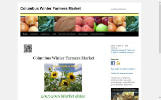 Columbus Winter Farmers Market