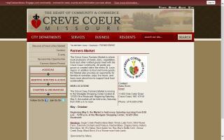 Creve Coeur Farmers' Market