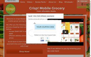 Crisp! Mobile Farmers Market