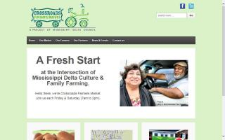 Crossroads Farmers Market: A Project of Mississippi Delta Council