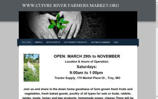 Cuivre River Farmers Market