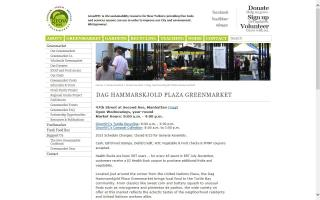 Dag Hammerskjold Plaza Greenmarket