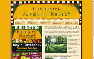 Downtown Burlington Farmers Market