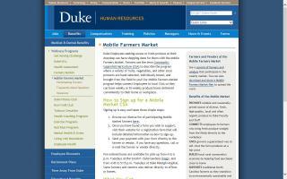 Duke Mobile Farmers Market