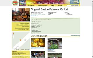 Easton Farmers Market 15th year