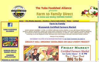 Farm 2 Family Brunswick Friday Farmers Market