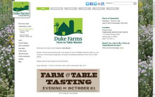 Farm to Table Market