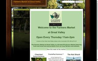 Farmers Market at Great Valley