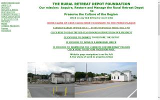 Farmers Market at Rural Retreat Depot