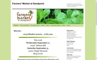 Farmers' Market at Sandpoint