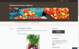 Gladstone Summer Farmers Market