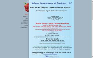Adams Greenhouse & Produce