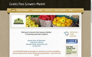 Grants Pass Growers' Market