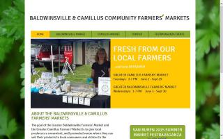 Greater Baldwinsville & Camillus Farmers' Market (Baldwinsville Location)