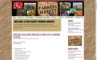 High Desert Farmer Market