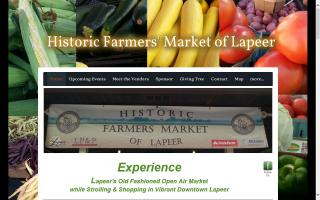 Historic Farmers Market of Lapeer