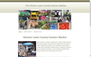 Historic Lewis County Farmer's Market