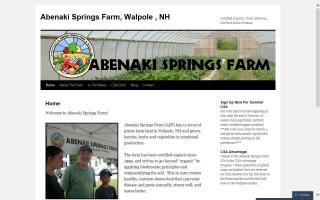Abenaki Springs Farm