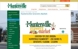Huntersville Growers' Market
