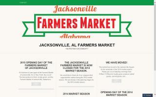 Jacksonville Alabama Farmers Market
