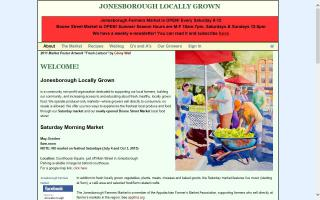 Jonesborough Farmers Market
