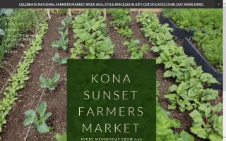 Kona Sunset Farmers Market
