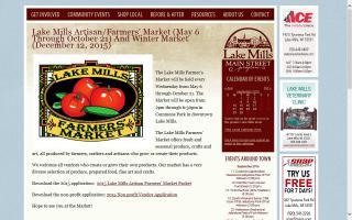 Lake Mills Farmers' Market