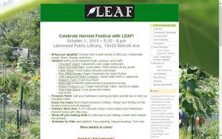 Lakewood Earth and Food (LEAF) Community Farmers' Market