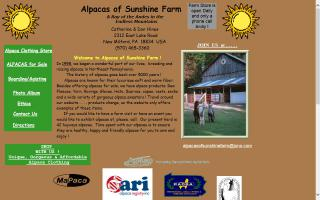 Alpacas of Sunshine Farm