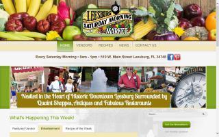 Leesburg Saturday Morning Market