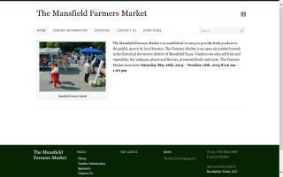 Mansfield Texas Farmers Market