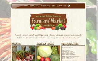 Menominee Historic Downtown Farmers Market Association