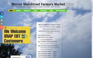Mercer MainStreet Farmers' Market