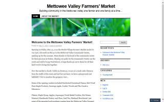 Mettowee Valley Farmers' Market