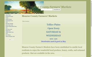Monroe County Farmers' Markets- Tellico Plains