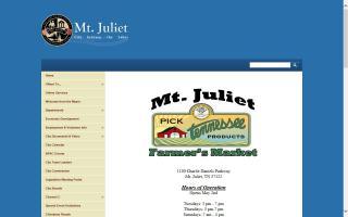 Mt. Juliet Farmers' Market