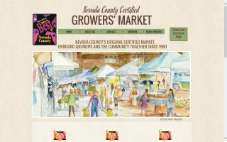 Nevada Ccounty Certified Growers Market - Grass Valley - North Star House