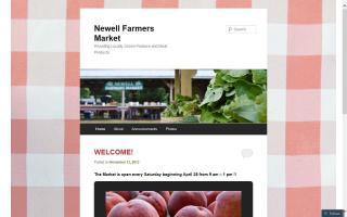 Newell Farmers Market