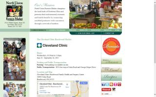 North Union Farmers Market at Cleveland Clinic Beachwood