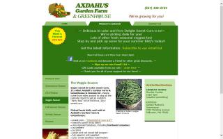 Axdahl's Garden Farm & Greenhouse
