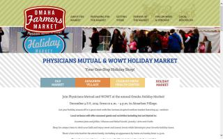 Omaha Farmers Market - Holiday Market
