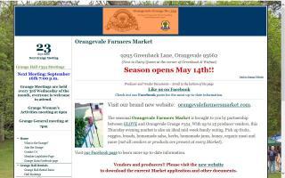 Orangevale Farmers Market