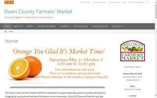 Owen County Farmers' Market