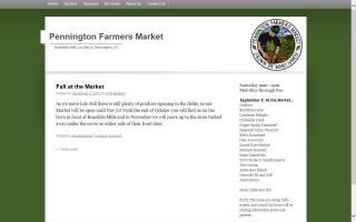 Pennington Farmers Market