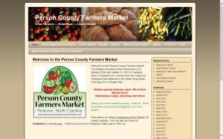 Person County Farmers Market