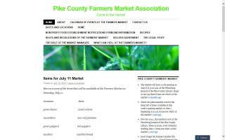 Pike County Farmers Market Association