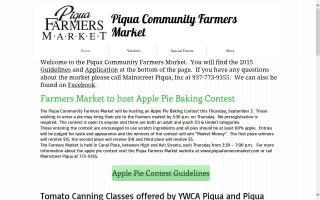 Piqua Community Farmers Market