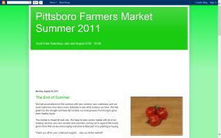 Pittsboro Farmers Market